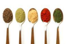 curry, recept, saláta