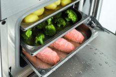 egészséges, étel, gőzpároló, konyha, konyhai készülékek, receptek
