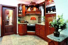 klasszikus, konyha, modern, otthon