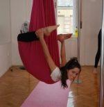 AERIAL YOGA, függőágy, jóga, testmozgás