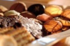 desszert, muffin, recept, valentin