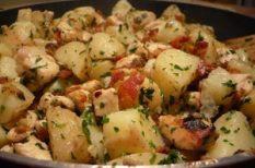 csirkemell, recept, újkrumpli