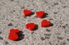 illóolaj, rózsa, szív