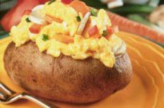 gyors ebéd, krumpli, recept