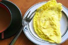 omlett, receptek, tojás