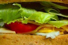 főzés, konyha, nyár, otthon, recept, sütés, szendvics, zöldség