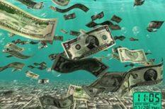 pénz, probléma, spórolás