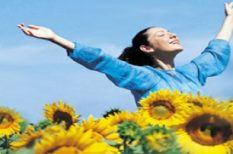 betegség, egészség, nap, nyár