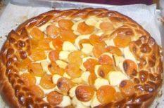 recept, sárgabarack, sütemény, sütés