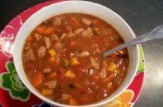 étel, gyors, leves, recept, táplálkozás