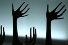 betegség, kéz, láb