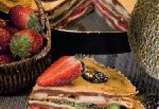 gyümölcsös rakott palacsinta, Mascarponés, palacsinta, recept