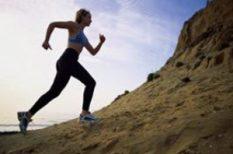 egészség, futás, láb, séta, sport
