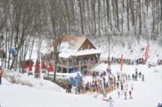 hideg, hó, síelés, sport, tél