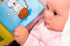 baba, bébi, csecsemő, videó