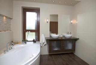 Nézd, elegáns és otthonos szép fürdőszoba! -képekkel - Életforma ...