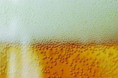ital, meleg, nyár, sör