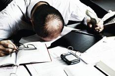 burnout, fáradtság, kiégés