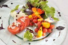 francia recept, paradicsom, saláta
