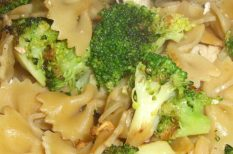 brokkoli, recept, tészta