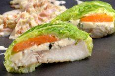 hal, kelkáposzta, recept