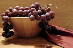 gyümölcsös sült, must, szőlő