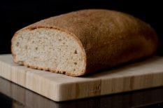 friss, kenyér, római tál