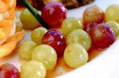 boros recept, harcsa recept, szőlő