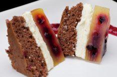 gyümölcsös sütemény, narancs, sütemény
