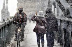 havazás, időjárás, tél