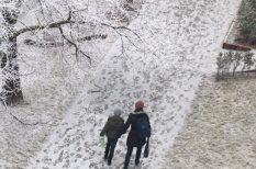 időjárás, síelés, tél