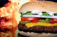 étkezés, hamburger, szokások