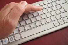gyulladás, kéz, számítógép