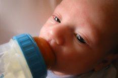 baba étkezése, táplálkozás, tápszer