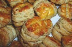 pogácsa, sütés, vendégváró recept