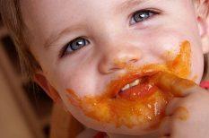 egészséges táplálkozás, gyereknevelés, hozzátáplálás