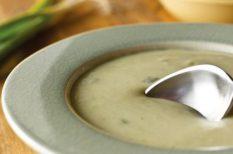 burgonya, burgonyás recept, krémleves, krumplileves, krumplis recept, zöldséges recept