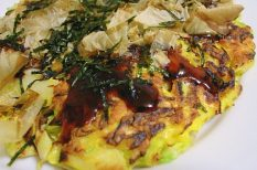 japán, japán konyha, japán palacsinta, japán recept, okonomiyaki, palacsinta