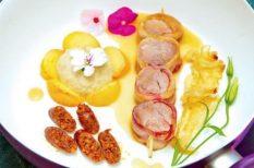 gyümölcsös húsos recept, Katona Borház, mangalica, mangalicarecept