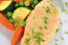 csirkemell, csirkés recept, tepsis csirke, zöldségek, zöldséges recept