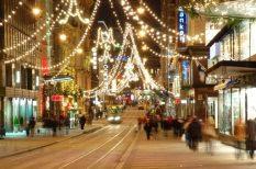 ajándék, férfi, karácsony, nő, vásárlás