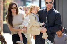 Angelina Jolie, Brad Pitt, celeb, gyerekek, színész, sztárgyerekek