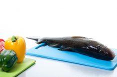 hal, karácsony, ünnep, zöldség