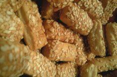 egészséges ételek, kókuszzsír, péksütemény, szezámmag