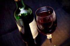 ajándék, alkohol, bor, ital, karácsony, menü, szórakozás, ünnep