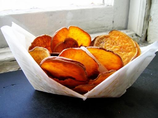 Édesburgonya chips, Kép: flickr.com