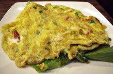 egészséges táplálkozás, gasztronómia, könnyű ételek, omlett, recept