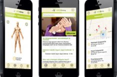 applikáció, egészségügy, okostelefon