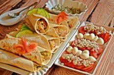 csirke, mediterrán, zöldség