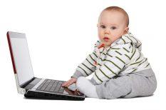 család, gyerek, internet, okostelefon